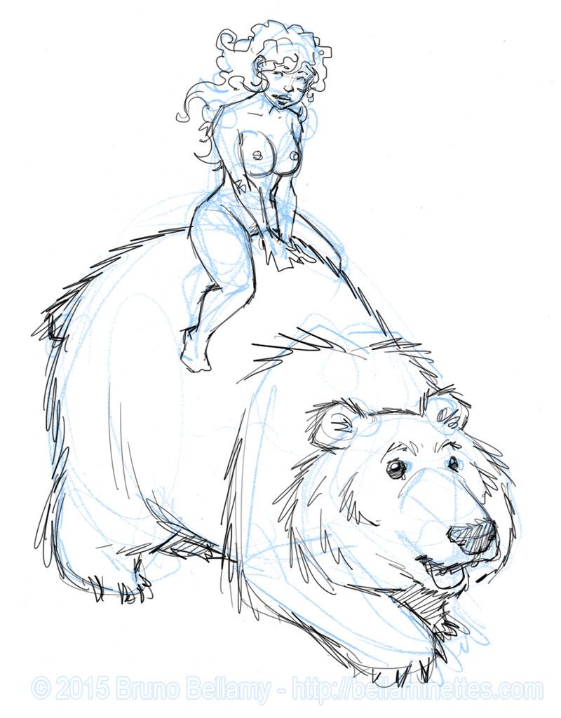 Les ours se suivent