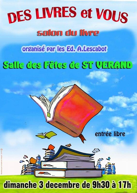 Salon du Livre à St Verand 3/12